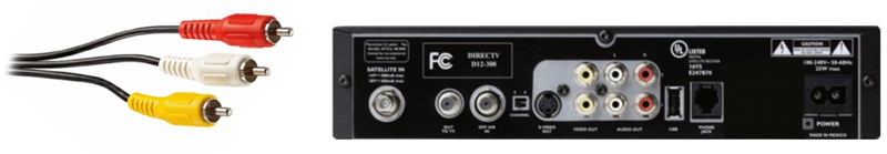 DIRECTV-Receiver-Cables