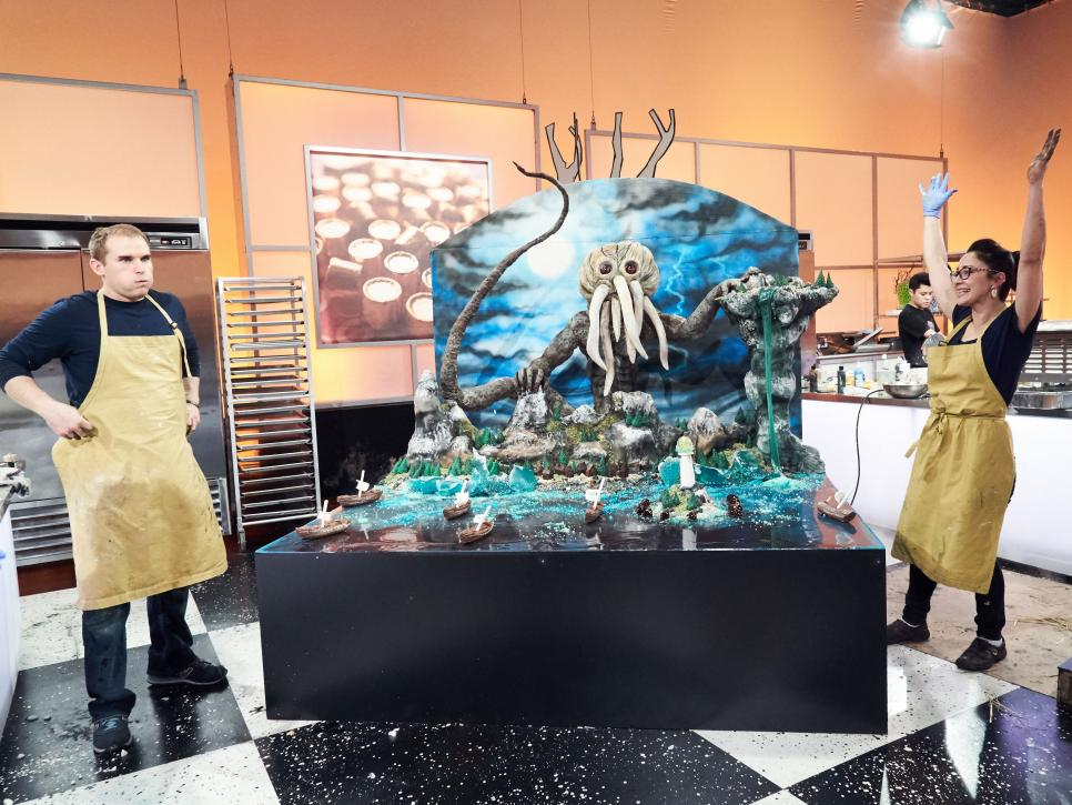 Halloween Wars Food Network Competition