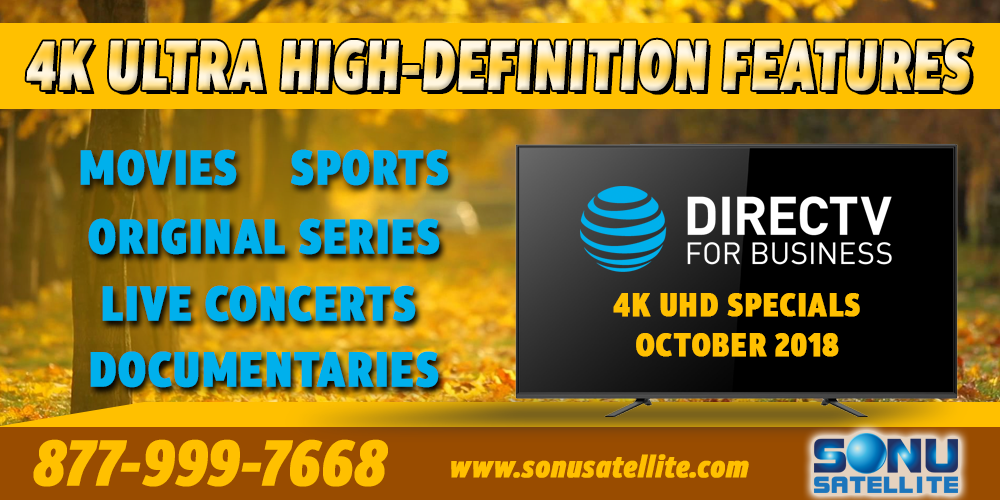 DIRECTV-4K-Schedule-October