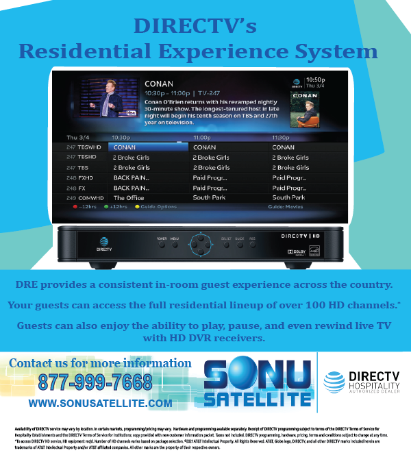 Residential Experience Features and contact information